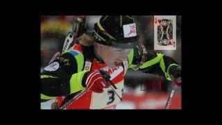 France wins a fantastic biathlon relay in Antholz 2012 (Brunet - Boilley - Bescond - Dorin Habert)