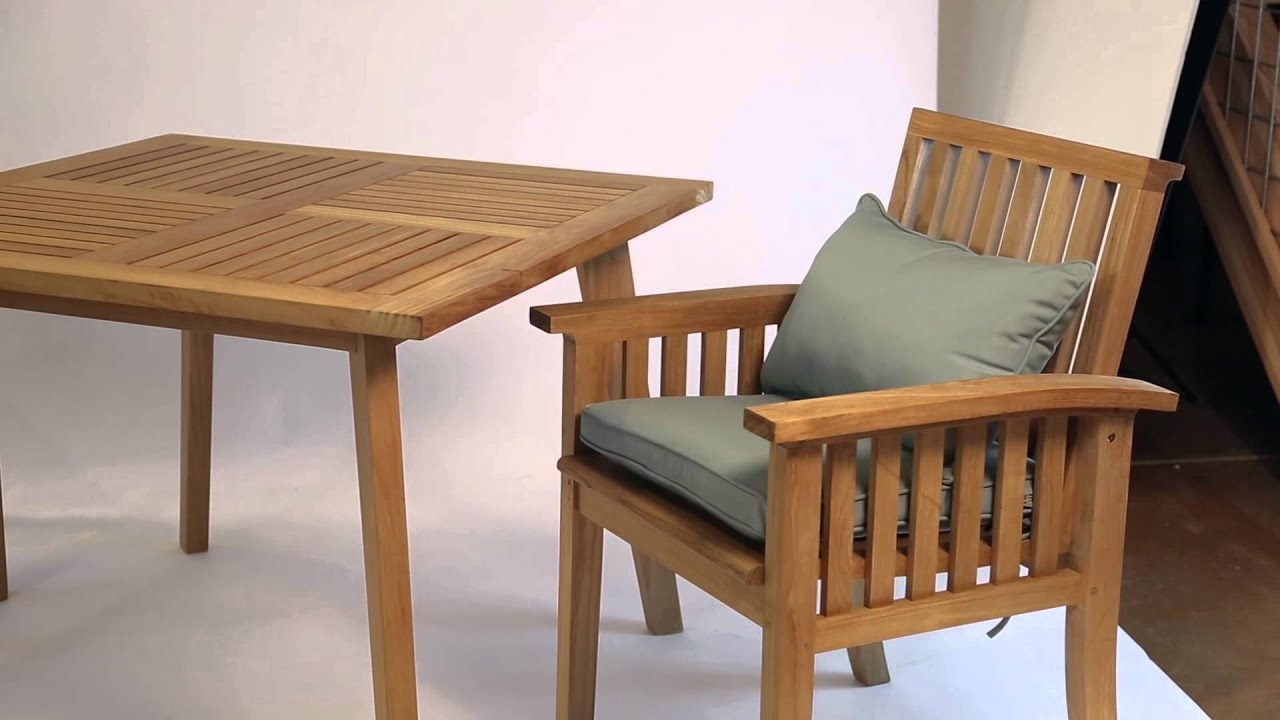 Craftsman Premium Teak Collection By Thos. Baker