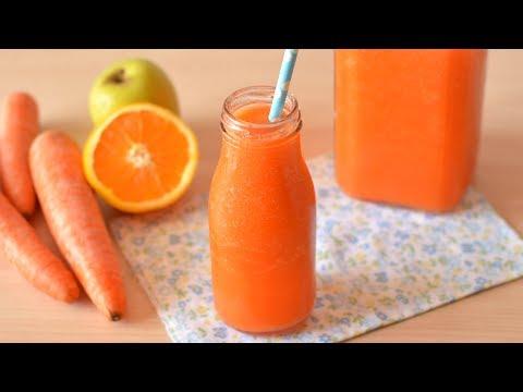 Batido de Zanahoria - Adelgaza y Cuida la Piel | Carrot Smoothie
