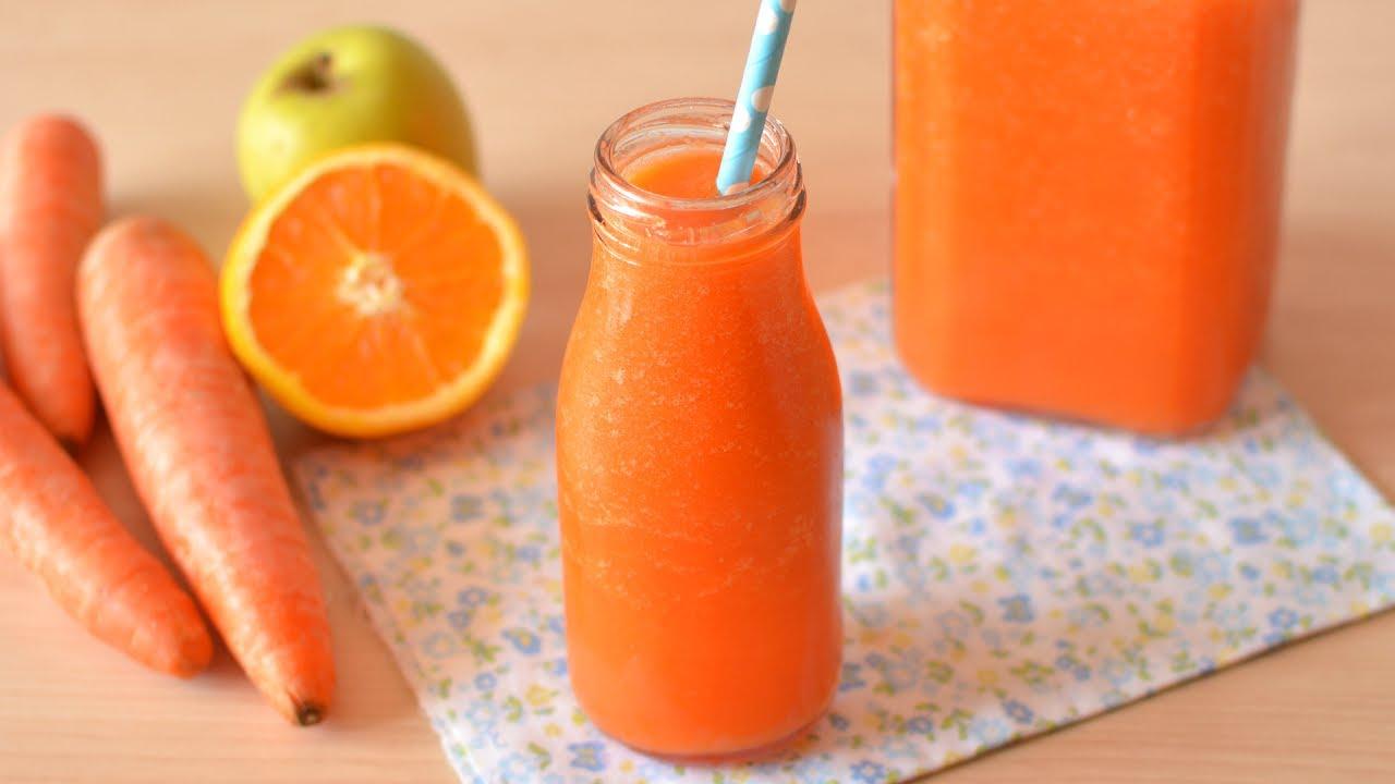 jugo zanahoria para bajar de peso