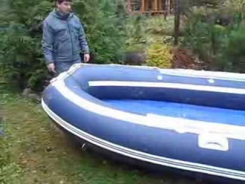отзыв о лодке солар 380 с надувным дном