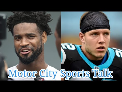 Darius Slay Amazed By Panthers RB Christian Mccaffrey | Never Seen a White RB Like McCaffrey Before