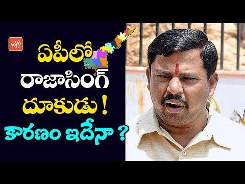 BJP MLA Raja Singh Activities in Andhra | BJP Party | AP News Updates | CM YS Jagan | YOYO TV