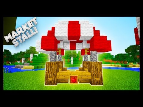 Minecraft - How To Make A Market Stall