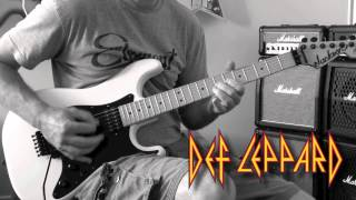 Def Leppard - Pour Some Sugar On Me Guitar Cover