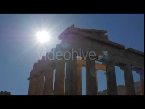 Travel View of Acropolis in Athens, Greece - Stock Footage | VideoHive 14384381