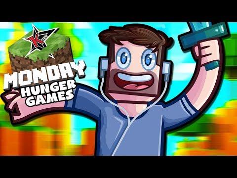 Team KYR SP33DY & SideArms! - Minecraft Monday Hunger Games Week 1