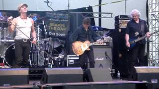 "Live Music : Rock : 2013 Steelhouse Festival : Snakecharmer, featuring ""Here I Go Again"""