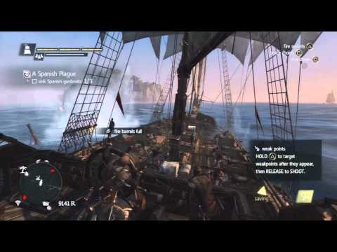 Assassin's Creed 4 - Naval Contract - A Spanish Plague Walkthrough