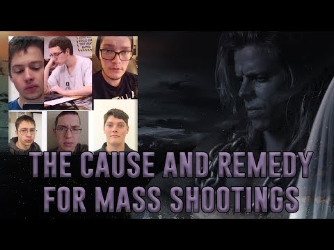 How To End Mass Shootings - Mental Unhealth Due To A Lack Of Masculinity And Drive