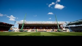 Dolman Roof Lifted Into Place - Ashton Gate Time Lapse
