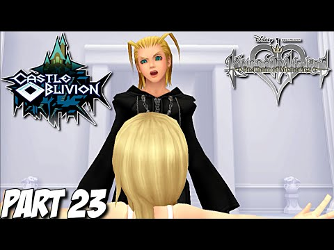 Kingdom Hearts Re: Chain of Memories Gameplay Walkthrough Part 23 - Castle Oblivion - PS3