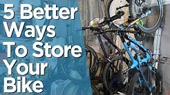 Five Bike Storage Solutions That Don't Stink!