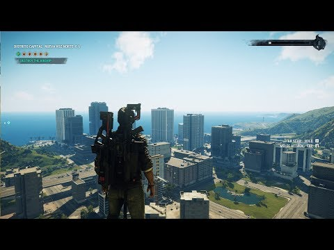 Just Cause 4 - Distrito Capital - Open World Free Roam Gameplay (PC HD) [1080p60FPS]