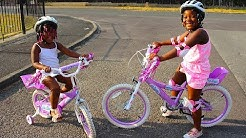 Children BICYCLE Shopping | Kids Learns How To Ride A Bike