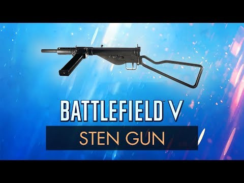 Battlefield 5: STEN REVIEW | BF5 Weapon Guide | Battlefield V Tips + Gameplay (BFV) thumbnail