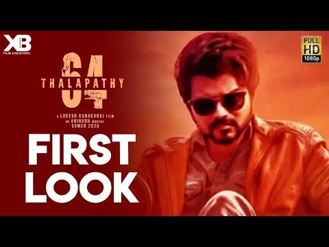 Official: Thalapathy 64 First Look | Thalapathy Vijay, Lokesh Kanagaraj, Anirudh |  Release Date
