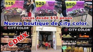 BOUTIQUE NUEVA DE CITY COLOR EN EN CENTRO//SARA DICE