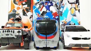 Athlon Tobot 3 Ambulan Zango Metron transformation play 애슬론 또봇 3 앰뷸런 장고 메트론 변신 놀이