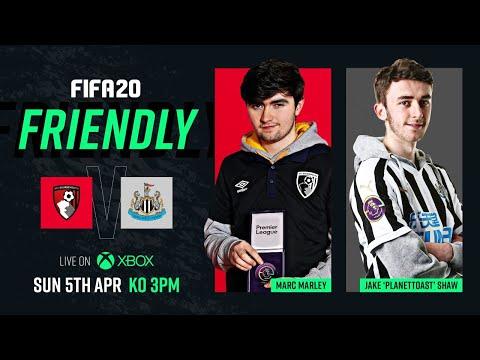 LIVE: AFC Bournemouth v Newcastle   FIFA 20 🙌