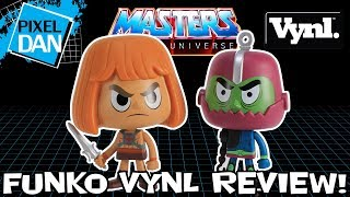 Funko Masters of the Universe Vynl He-Man and Trap Jaw Figures Video Review
