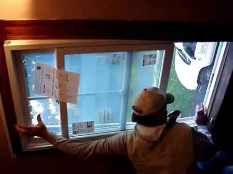 Installing Renewal by Andersen window
