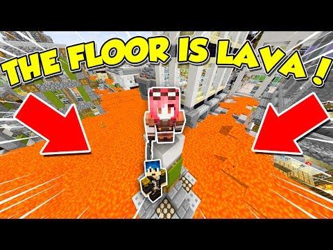 Minecraft ITA - The floor is lava!!