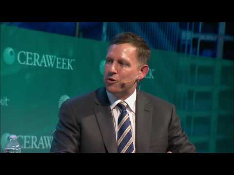 Keynote with Peter Thiel @ CERAWeek [March 2017]