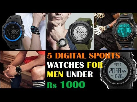 5 Best Digital Sports Watches For Men Under Rs 1000 | Dipawali 2019 Special Edition |