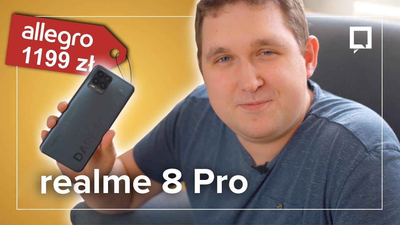 realme 8 Pro po MIESIĄCU. Czy to NAJLEPSZY smartfon za 1200 zł?