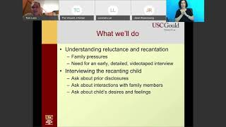 Interviewing the Child Who is Recanting Webinar