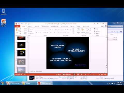 How To Use PPTX To PNG Converter Software