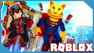Roblox 2 Player Superhero Tycoon with My Little Nephew
