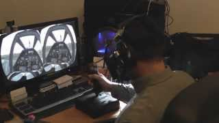 Prueba de Oculus Rift Developer Kit en War Thunder