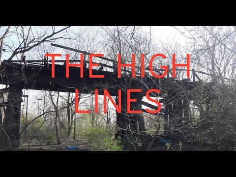 "Amtrak & The ""High Line"": Abandoned Bridges of Gary"
