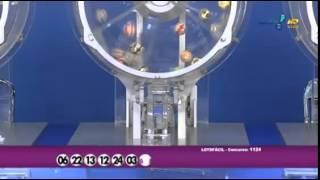 Resultado da Lotofácil concurso 1124 dia 27/10/2014 (Momento da Sorte - RedeTV)
