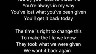 Three Days Grace - Born Like This [Lyrics]