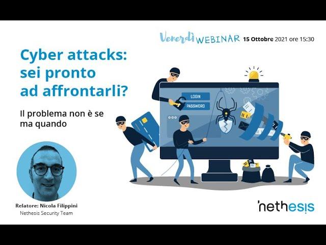 Cyber attacks: sei pronto ad affrontarli?