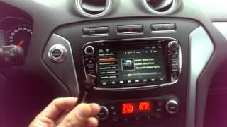 видео Штатная магнитола Redpower 31003 для автомобилей Ford (серый)