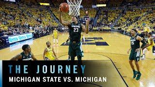 Cinematic Highlights: Winston Leads Michigan State Past Michigan    B1G Basketball   The Journey