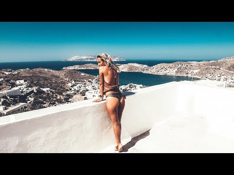 Island hopping in paradise // Greek Islands // Vlog #25 (Santorini, Paros, Iso, Mykonos )