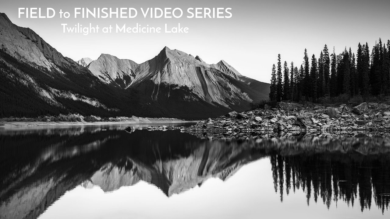 From field to finished black and white nature photography tutorial