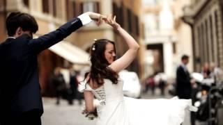 Wedding in Rome Italy - Wedding video, двухкамерная свадебная видеосъемка в Риме Италии