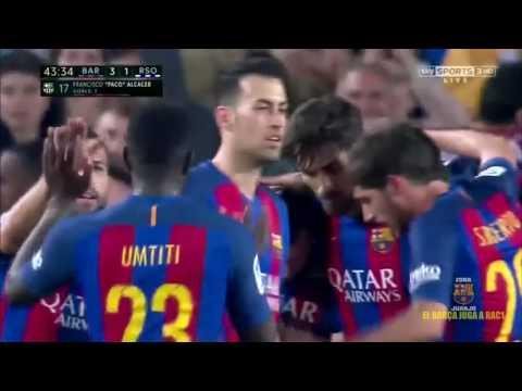 FC Barcelona vs Real Sociedad [3-2][La Liga - Jornada 32][15/04/2017] EL BARÇA JUGA A RAC1