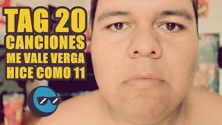 #Tag20Canciones (no lo haga compa).