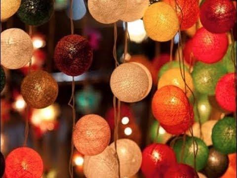 🍭 Cách Làm Đèn Dây Trang Trí Cực Xinh _ Kẹo Handmade