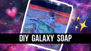 DIY GALAXY SOAP | #12DaysofSoapmas | Royalty Soaps
