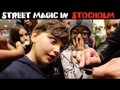 Street Magic in Stockholm-Julien Magic