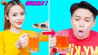 23 BEST PRANKS AND FUNNY TRICKS | Funny DIY Couple Pranks! Prank Wars! Family Fun Playtime by T-FUN