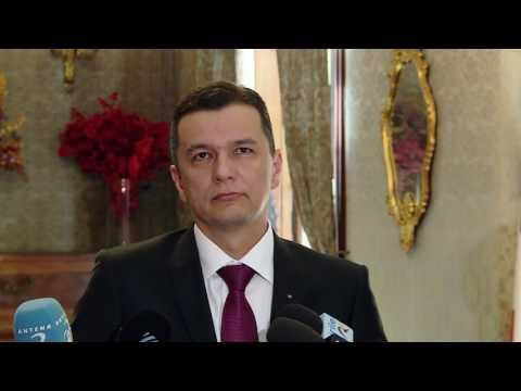 6/8/17: Paris - Declaratii de presa ale premierului Sorin Grindeanu, la ambasada Romaniei din Paris